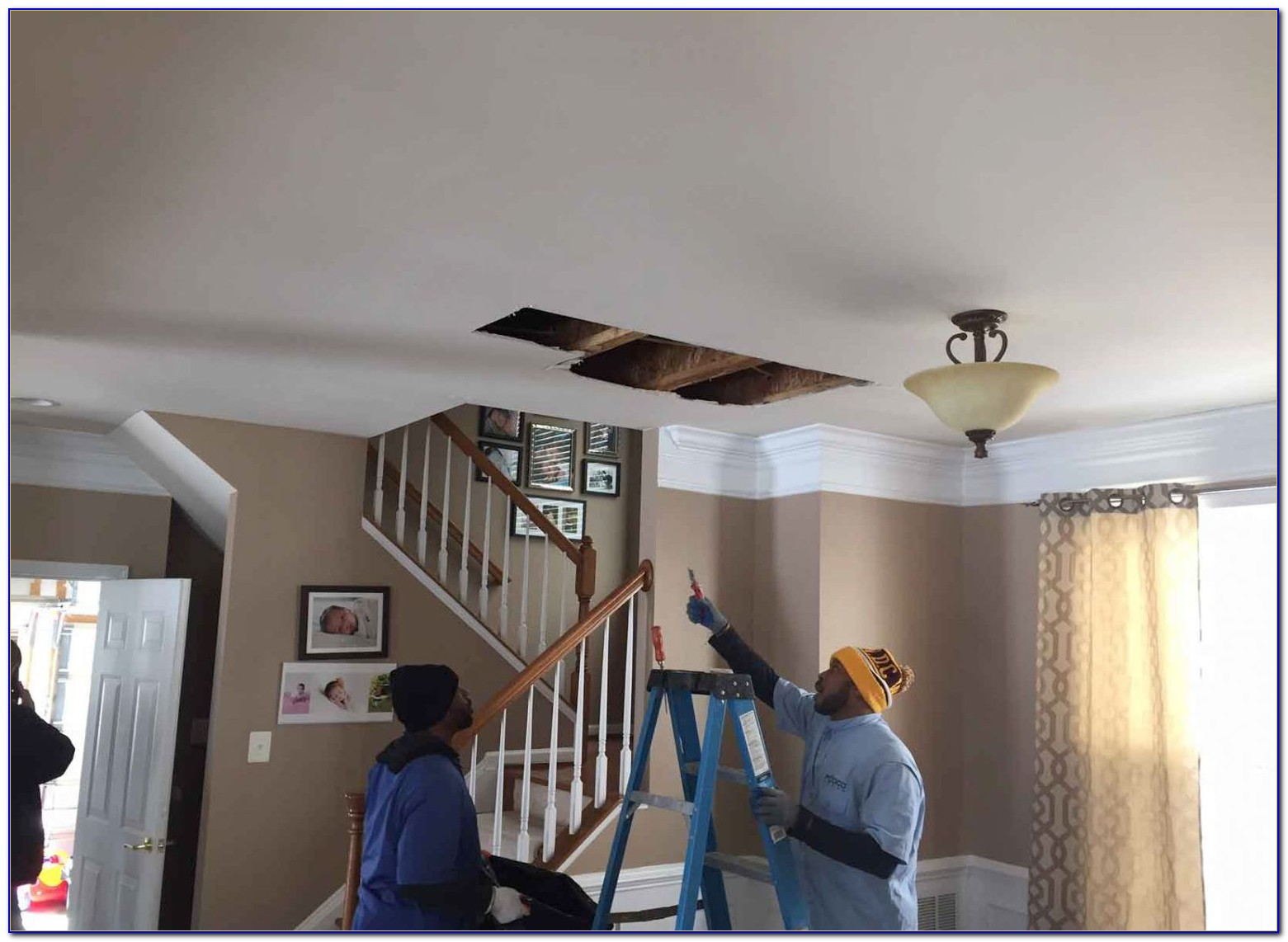 Ceiling Water Damage Covered By Insurance