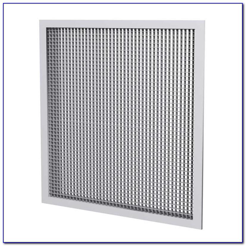 Chrome Egg Crate Ceiling Tiles