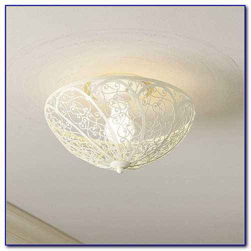 Clip On Lampshade For Ceiling Light