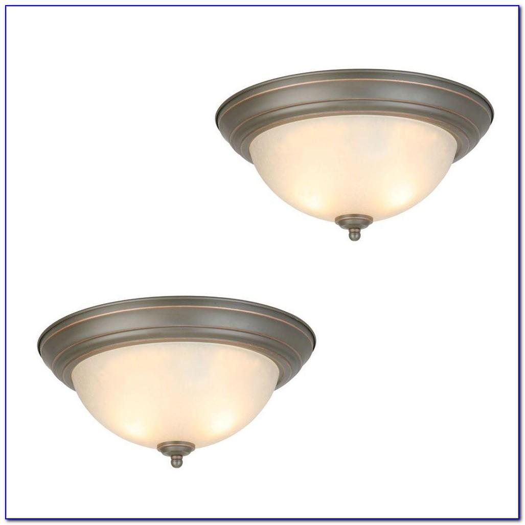 Commercial Electric 7 In. White Led Ceiling Flush Mount Daylight Easy Light