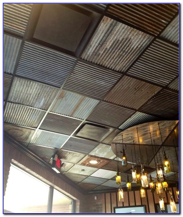 Corrugated Metal Ceiling Panels