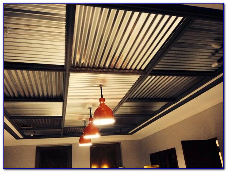Corrugated Sheet Metal Ceiling Panels