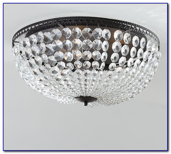 Crystal Ceiling Fan Light Fixture