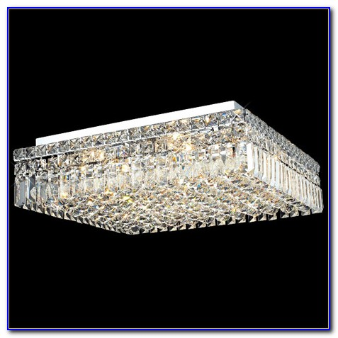 Crystal Ceiling Mounted Light Fixtures