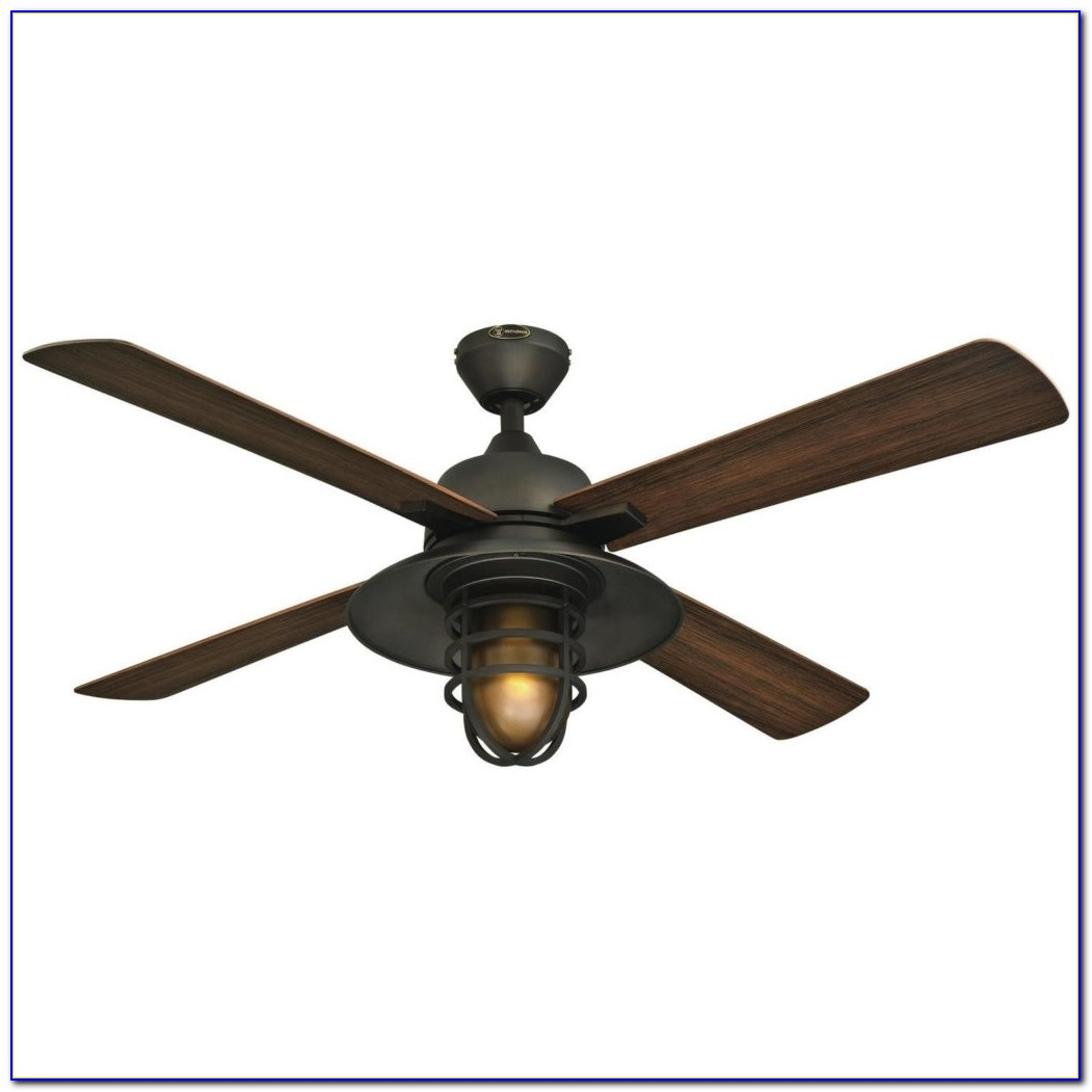 Damp Rated Ceiling Fan With Remote