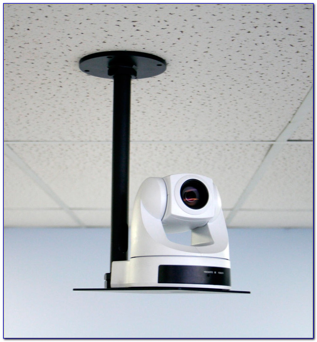Draper Phantom Motorized Drop Down Ceiling Projector Mount