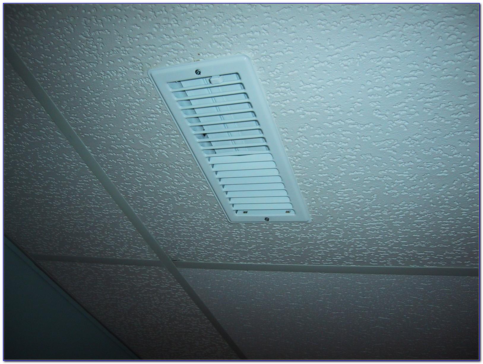 Drop Ceiling Air Vent Diverter