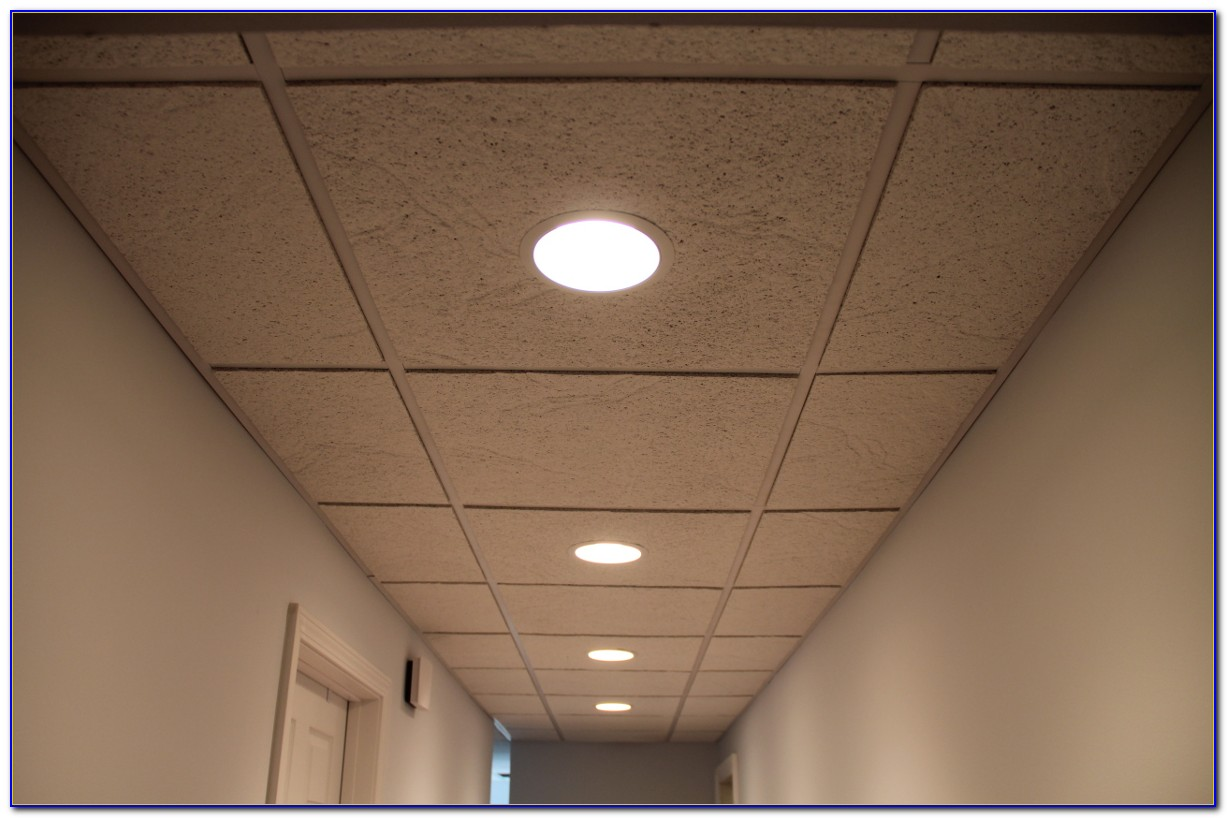 Drop Ceiling Recessed Light Fixture