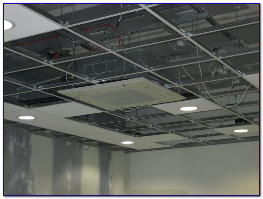 Drop Ceiling Recessed Light Housing