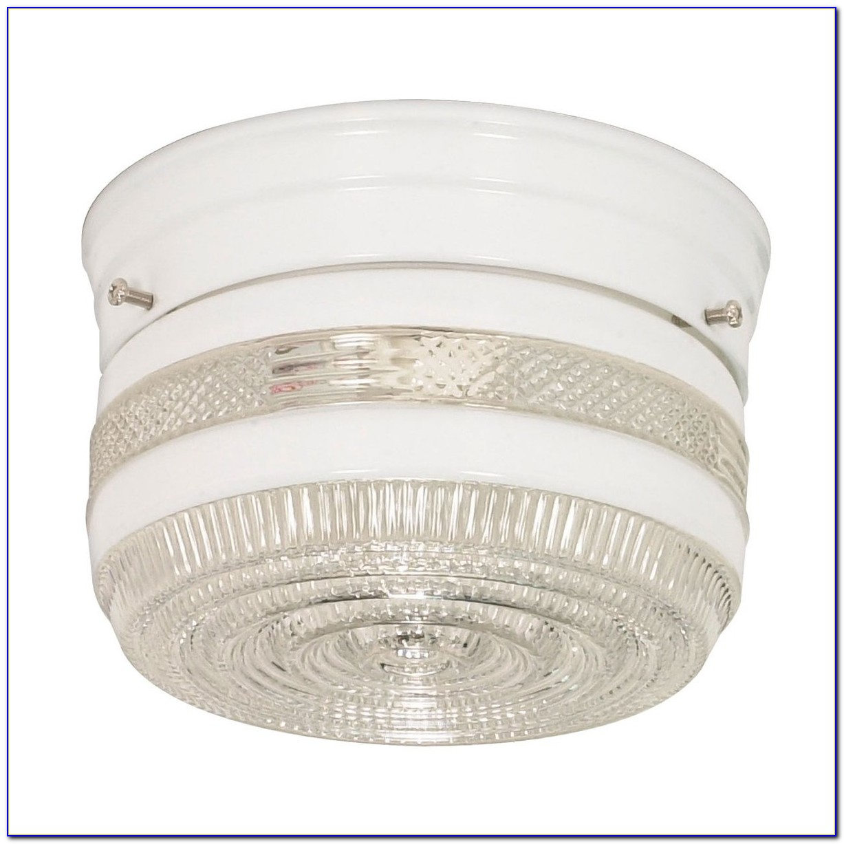 Drum Semi Flush Mount Ceiling Light