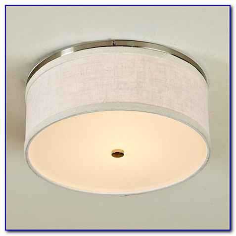 Drum Shade Ceiling Light Flush Mount