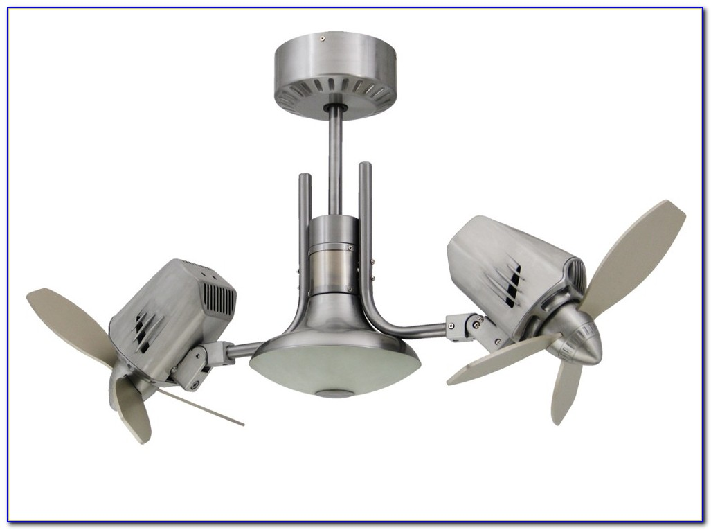 Dual Oscillating Ceiling Fan