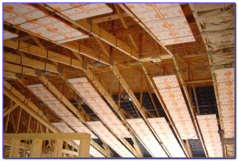Electric Radiant Ceiling Heat Panels