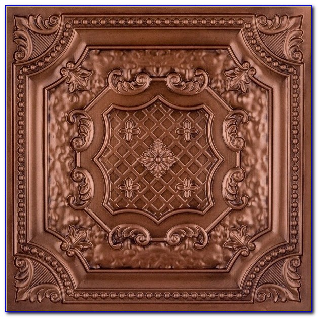 Faux Tin Ceiling Tiles 24x24