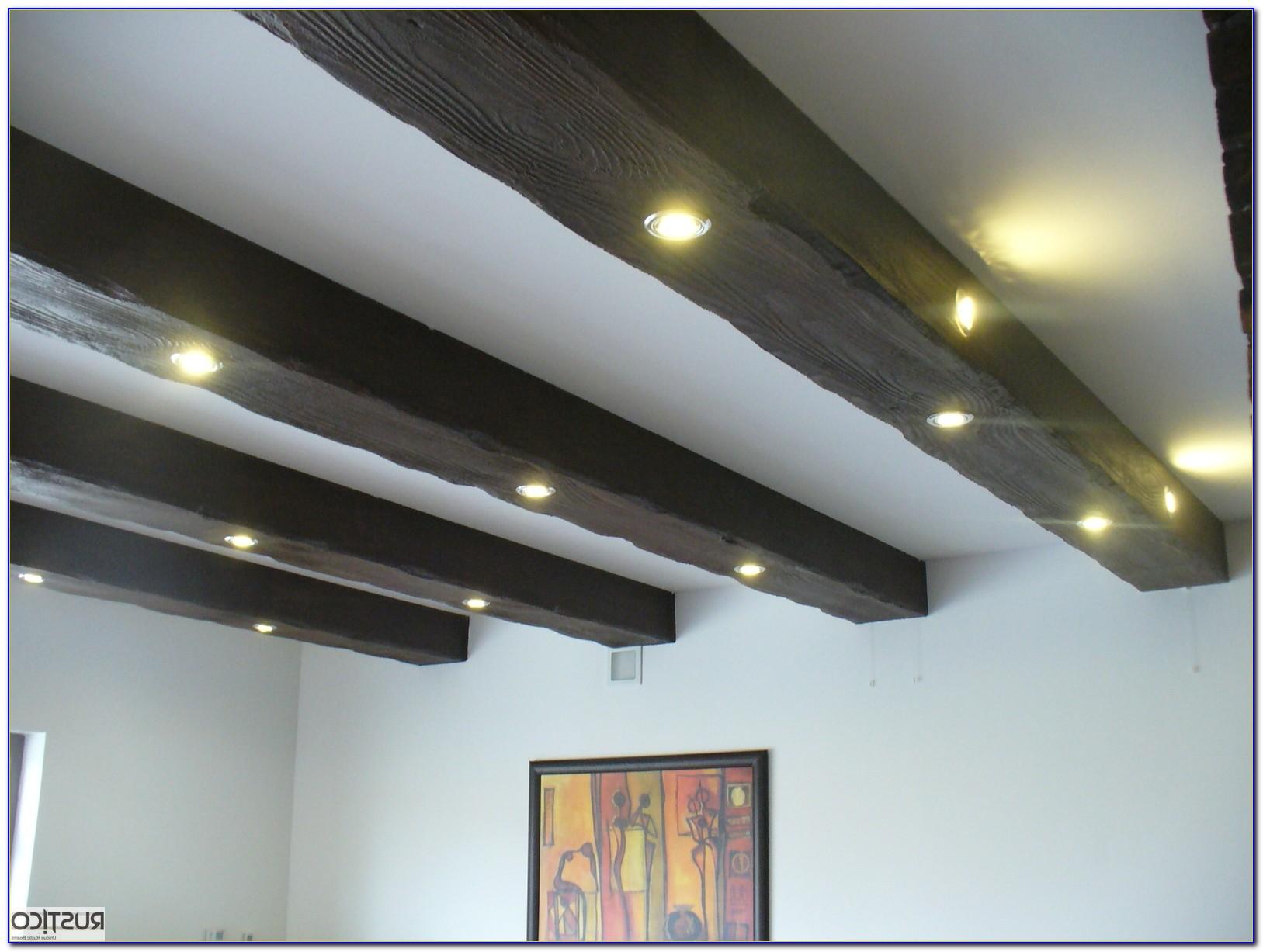 Faux Wood Beams On Ceiling