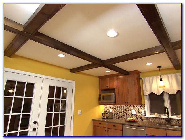 Faux Wood Ceiling Beams Diy