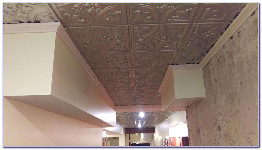 Faux Wood Drop Ceiling Tiles