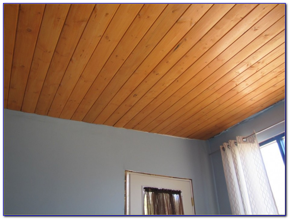 Faux Wood Paneling For Ceiling