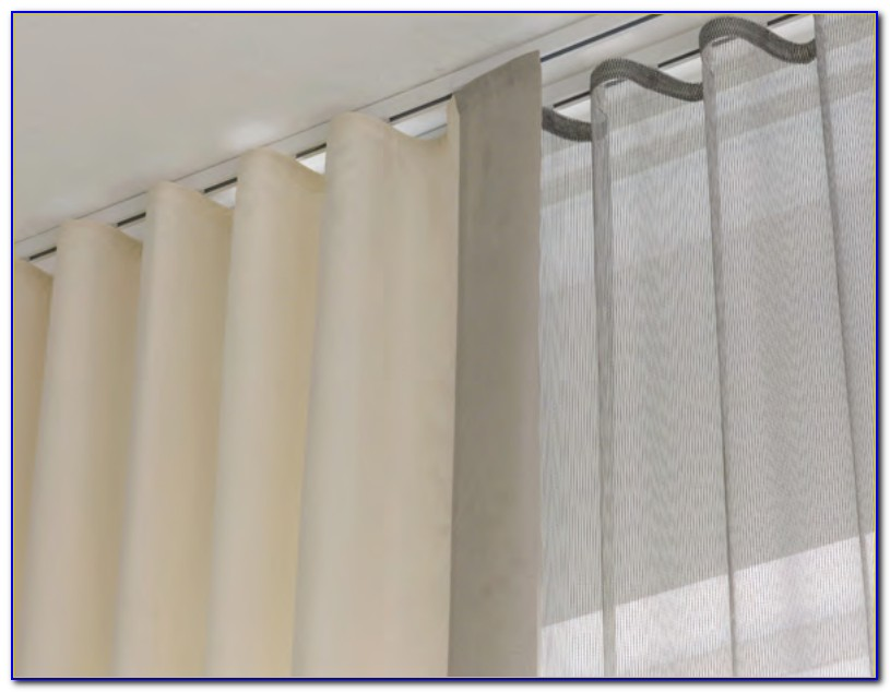 Flexible Ceiling Tracks For Curtains