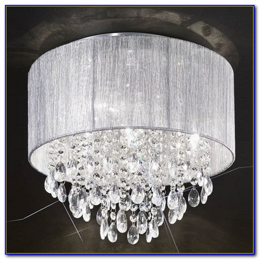 Flush Crystal Ceiling Lights