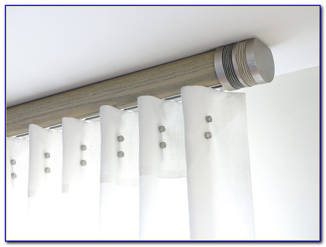 Flush Fitting Ceiling Curtain Track