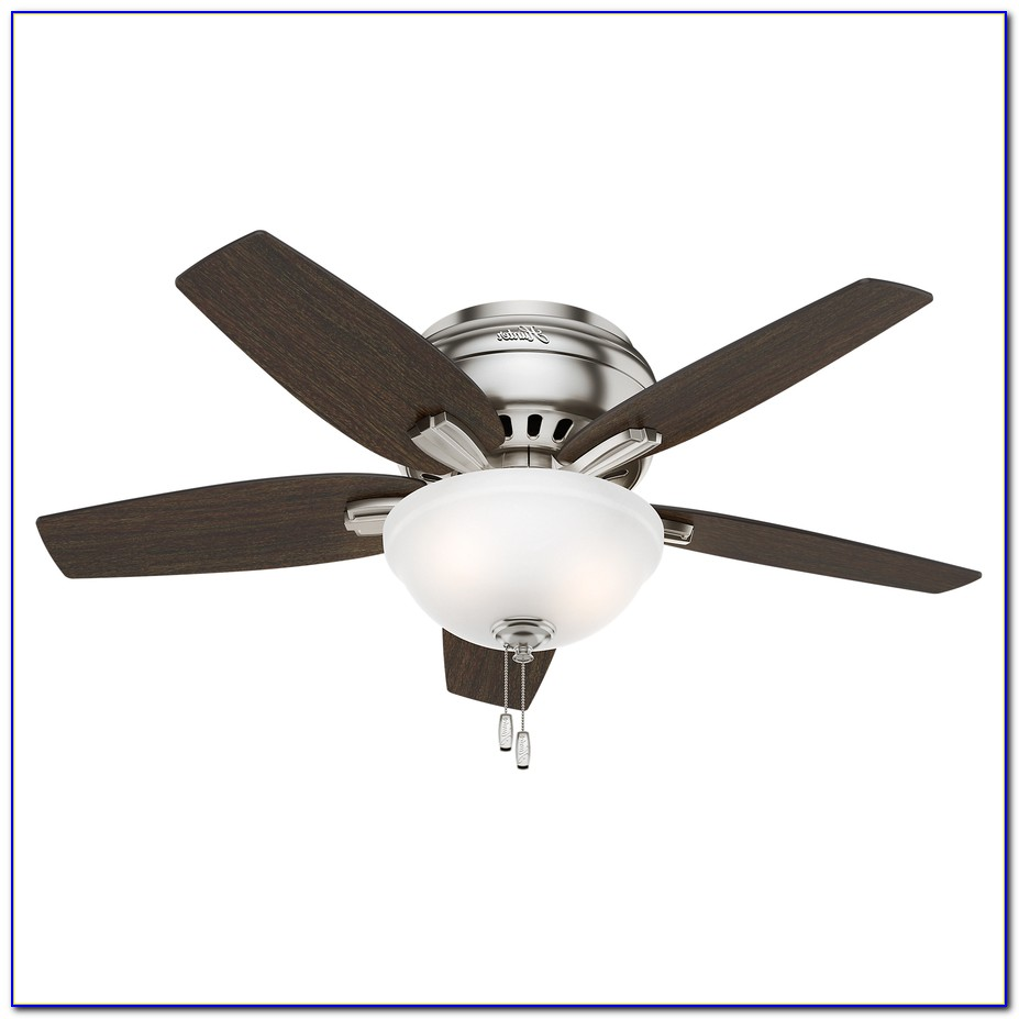 Flush Mount Brushed Nickel Ceiling Fans