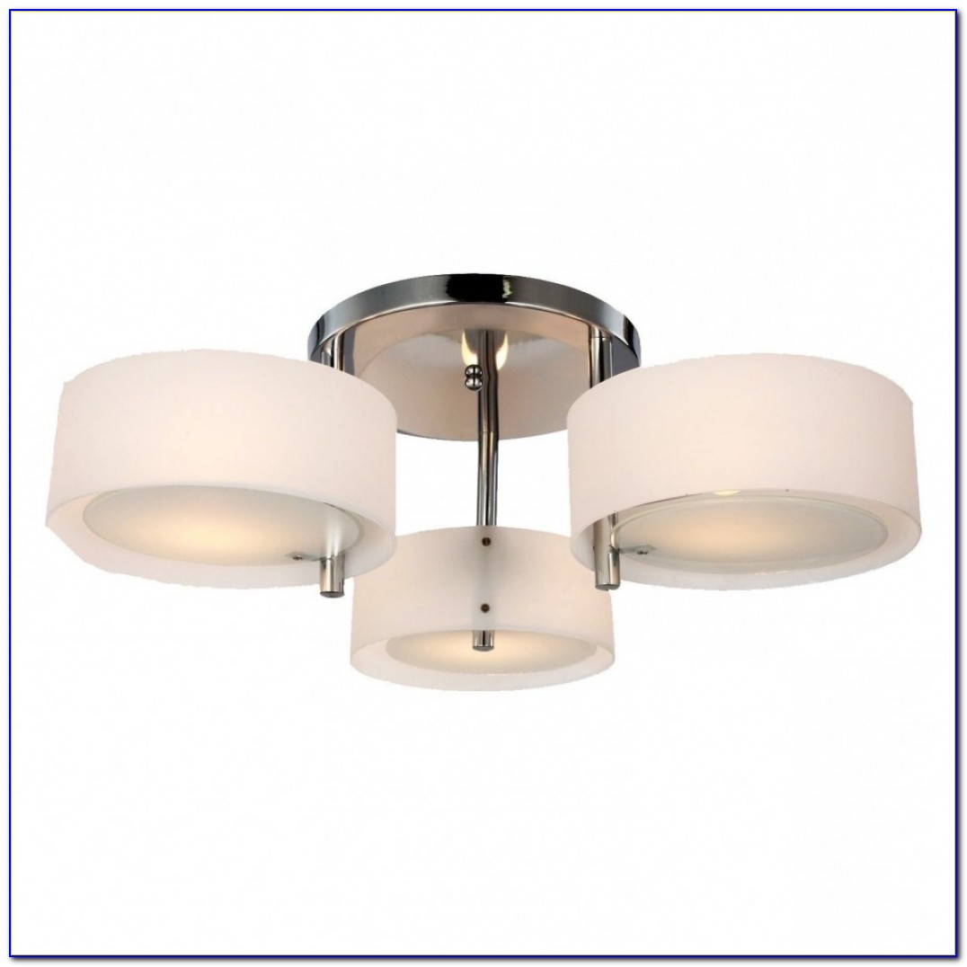 Flush Mount Kitchen Ceiling Fans With Lights
