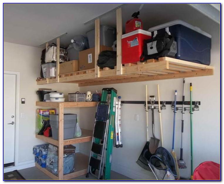 Garage Hanging Storage Ideas