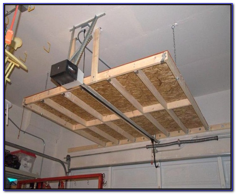 Garage Makeover Ideas Ceiling Storage