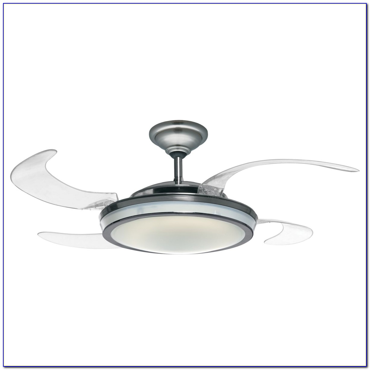Globo E27 Ceiling Fan With Clear Blades