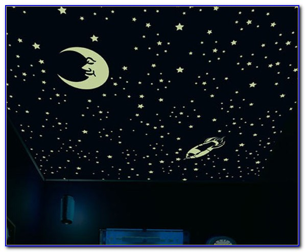 Glow In The Dark Stars Ceiling Paint