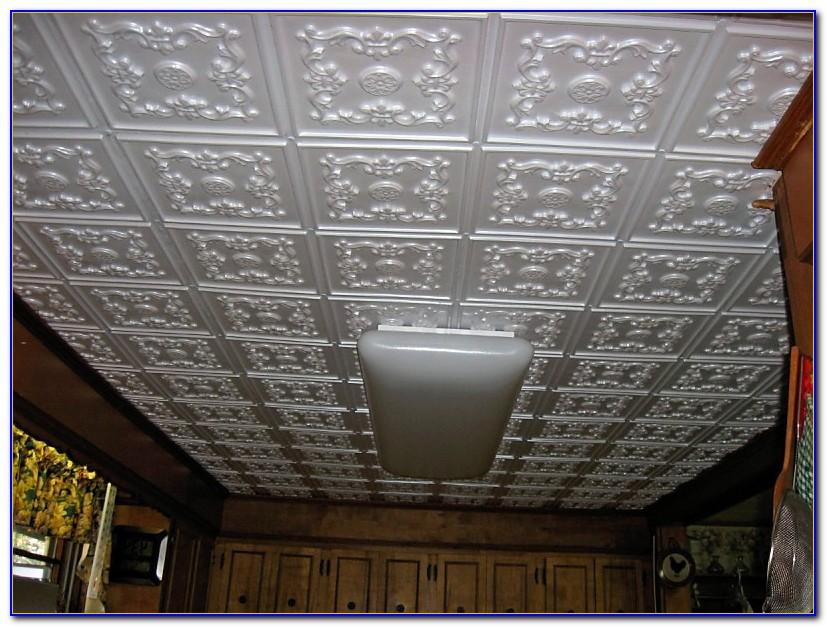 Glue Up Ceiling Panels