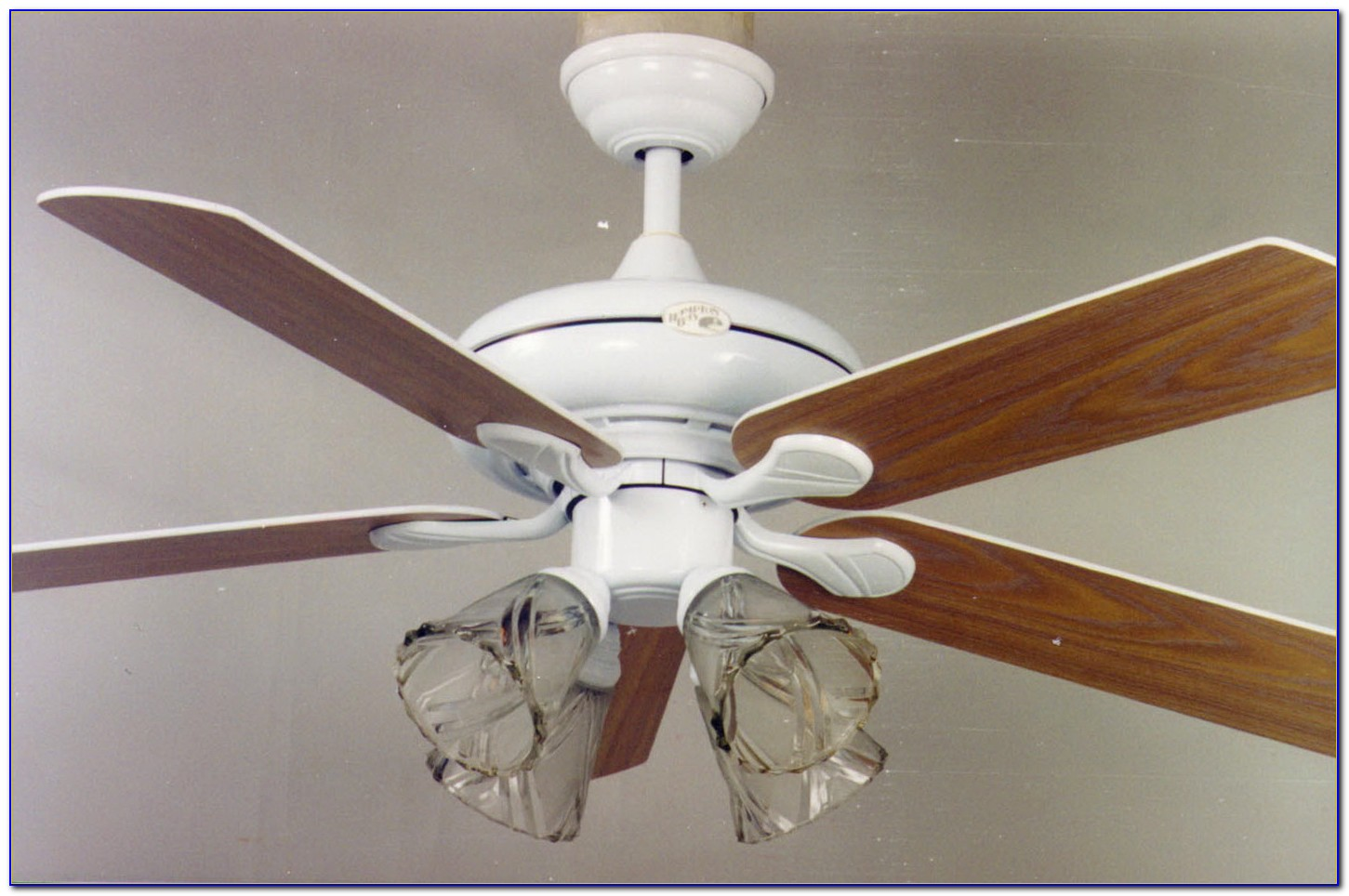 Hampton Bay Brushed Nickel Ceiling Fan Light Kit