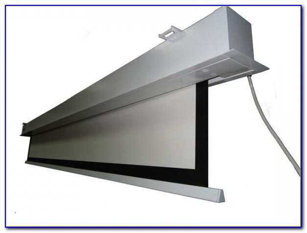 Hanging Projection Screen From Ceiling