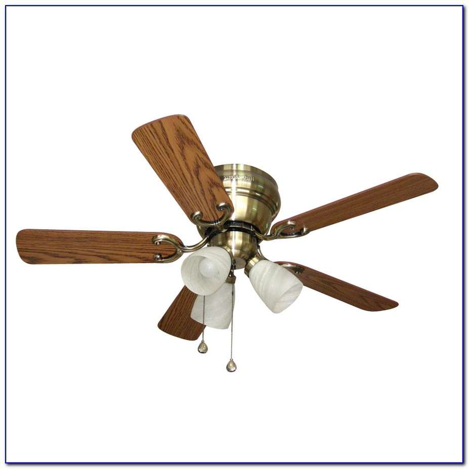 Harbor Breeze 52 In Centreville Antique Brass Ceiling Fan With Light Kit