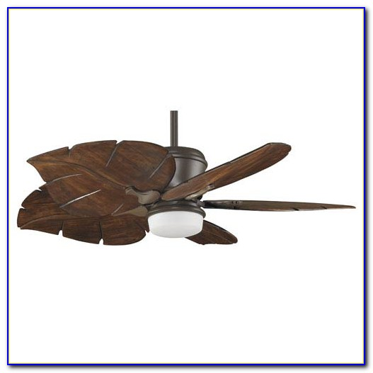Harbor Breeze Ceiling Fan With Leaf Blades