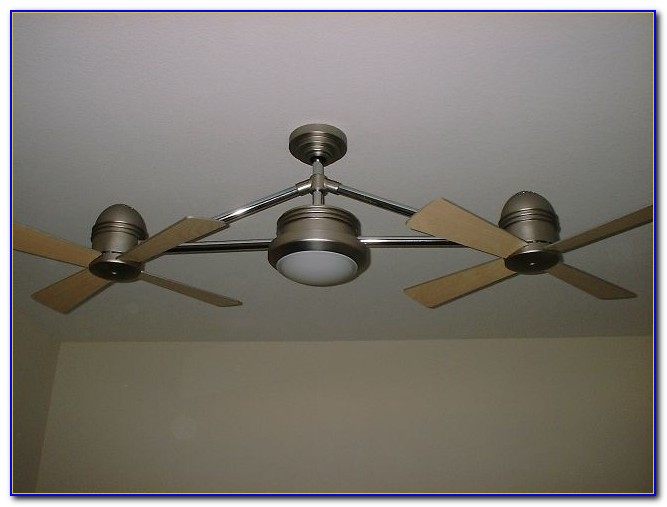 Harbor Breeze Double Ceiling Fan With Light