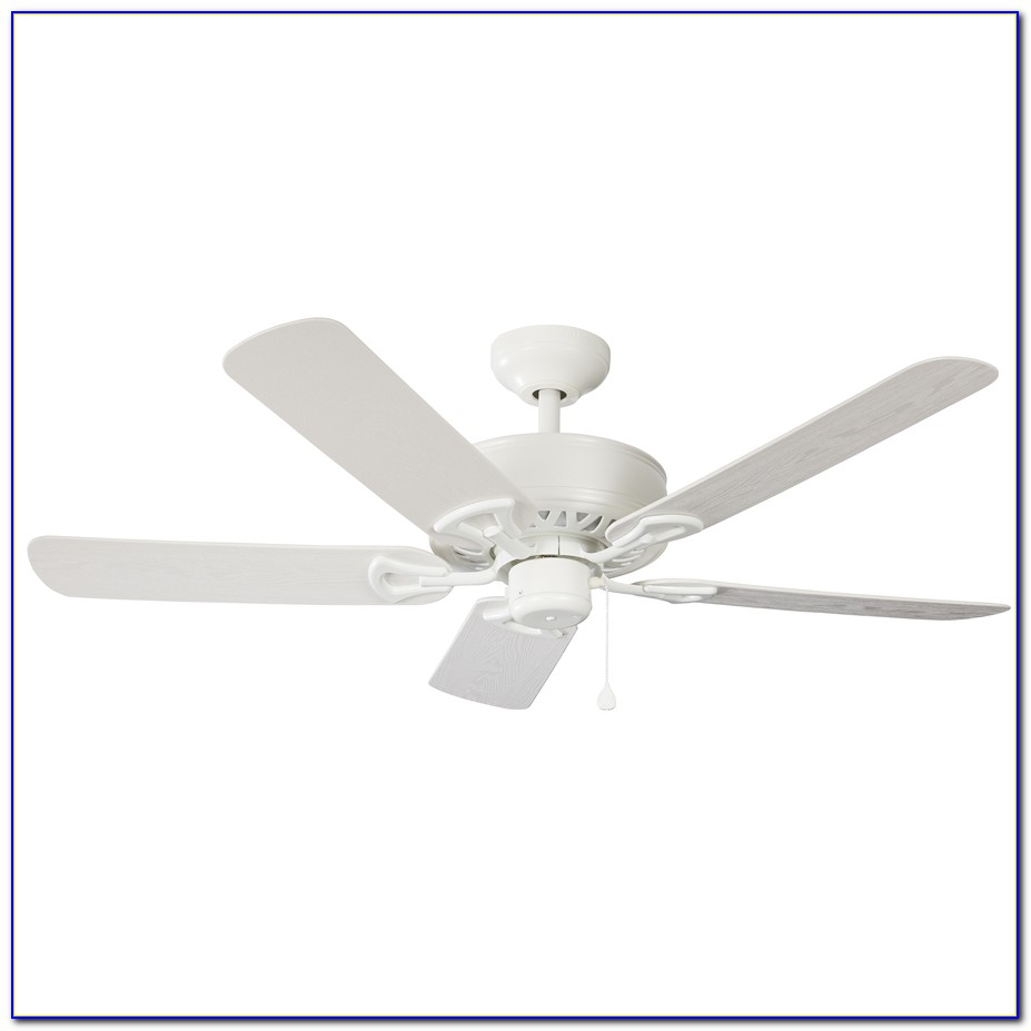 Harbor Breeze White Ceiling Fan With Light