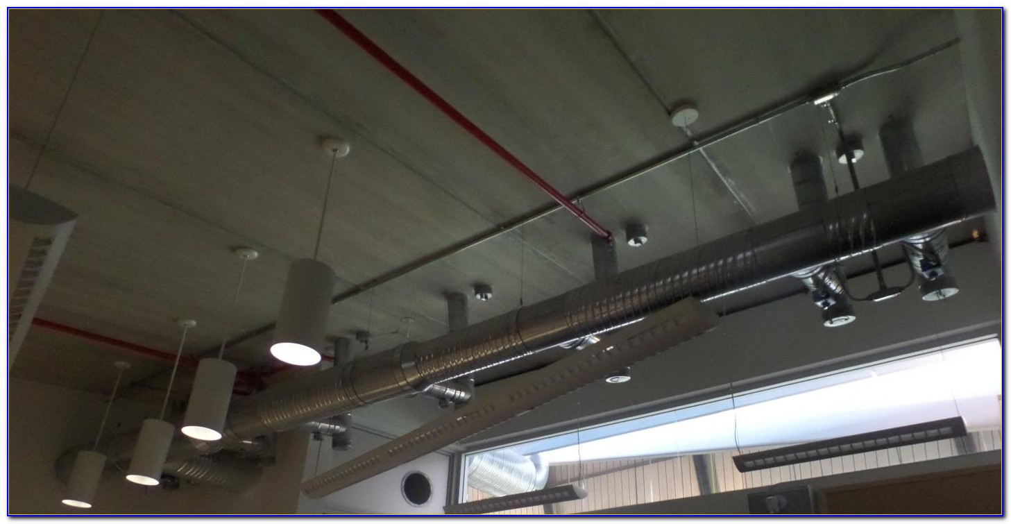 Heat Ducts In Drop Ceiling