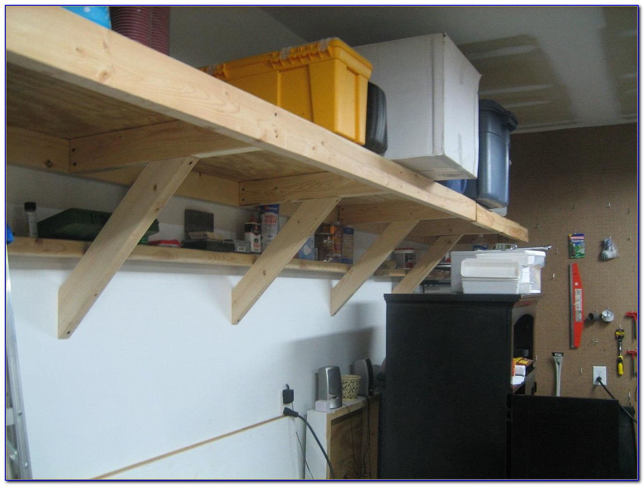 High Ceiling Garage Storage Ideas