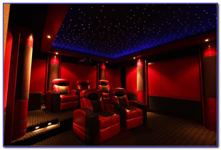 Home Movie Theater Star Ceiling