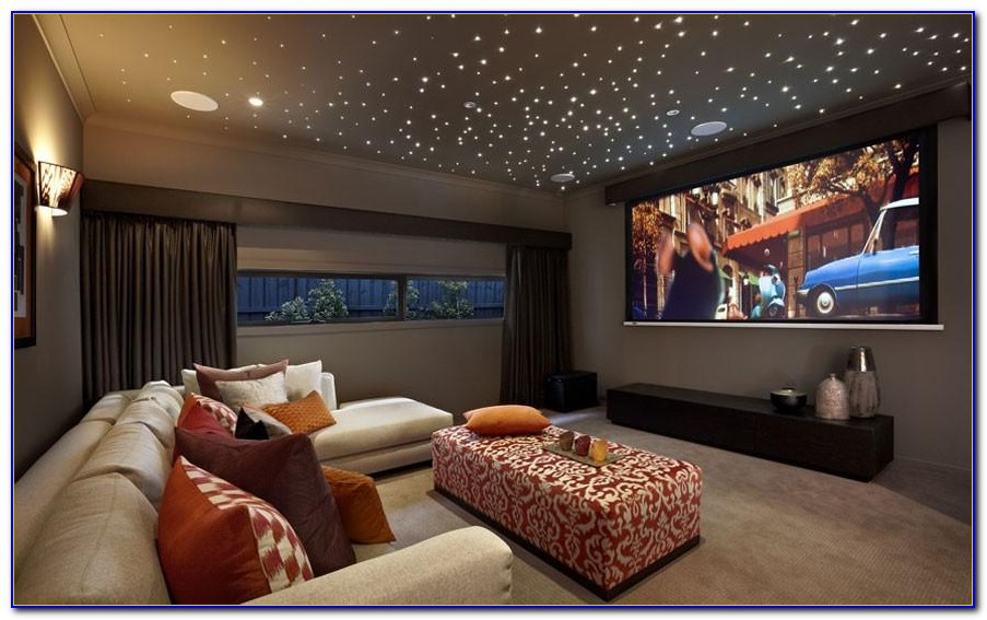 Home Theater Fiber Optic Star Ceiling