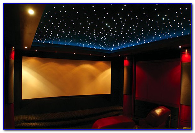Home Theater Star Ceiling Diy