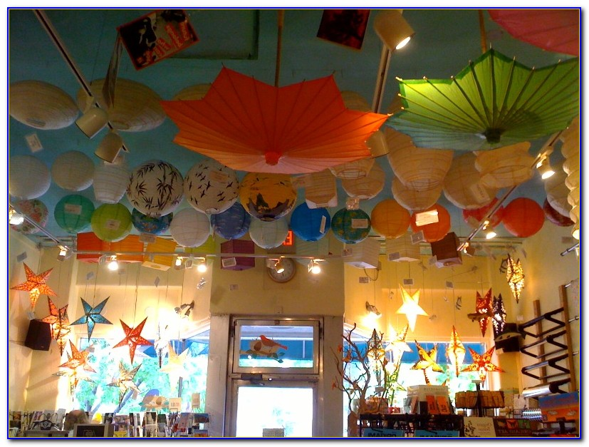 How To Hang Paper Lanterns From Ceiling For Party