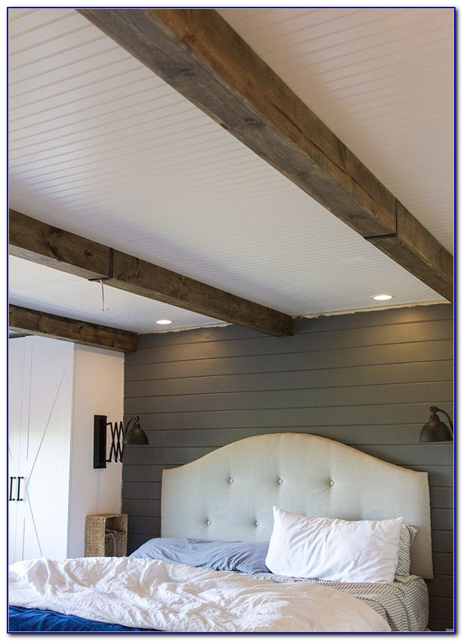 How To Make Faux Beams For Ceilings
