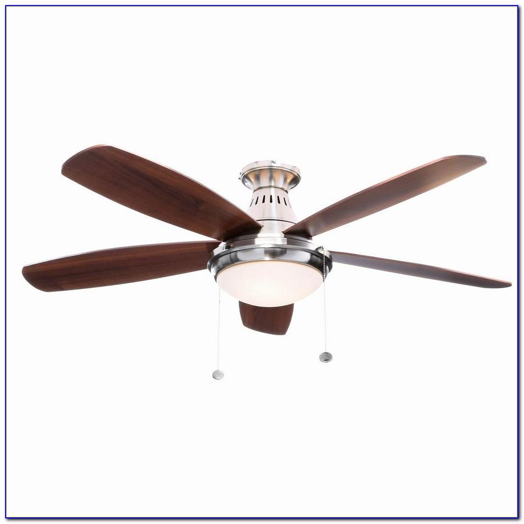 Hunter Stratford Brushed Nickel Ceiling Fan