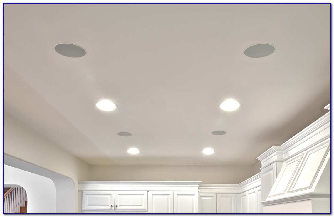 In Ceiling Surround Speaker Placement