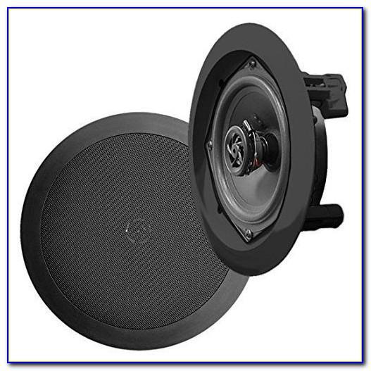 Installing Flush Mount Ceiling Speakers