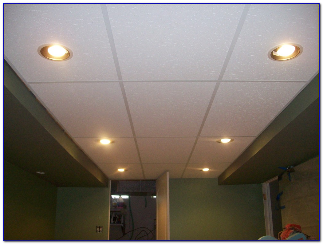 Installing Recessed Lighting In Drop Ceiling Panels
