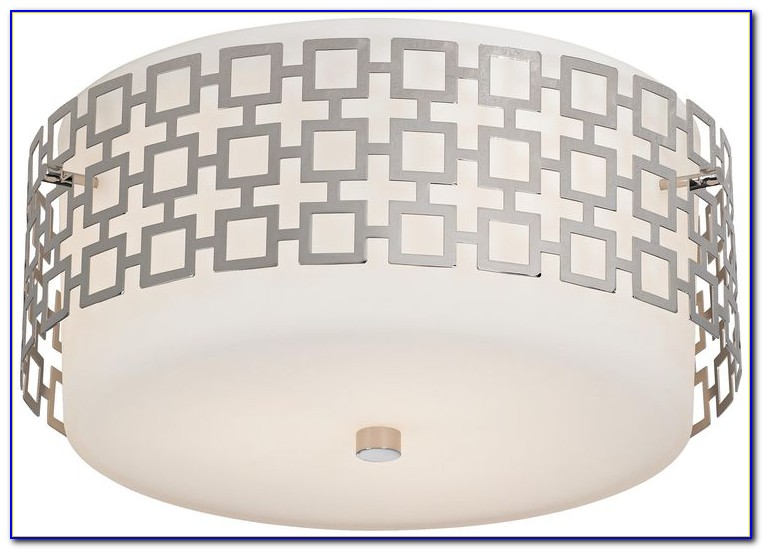 Jonathan Adler Sputnik Nickel Ceiling Light